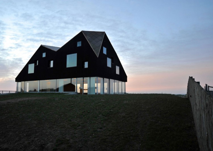 dawn Dune House by JVA - Modern Vacation Home in Suffolk, England
