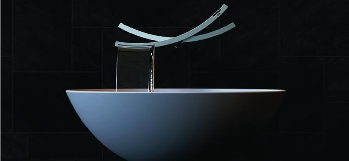 Edgy Seesaw Faucet by Han Chanhee Eco friendly Design homesthetics net 3