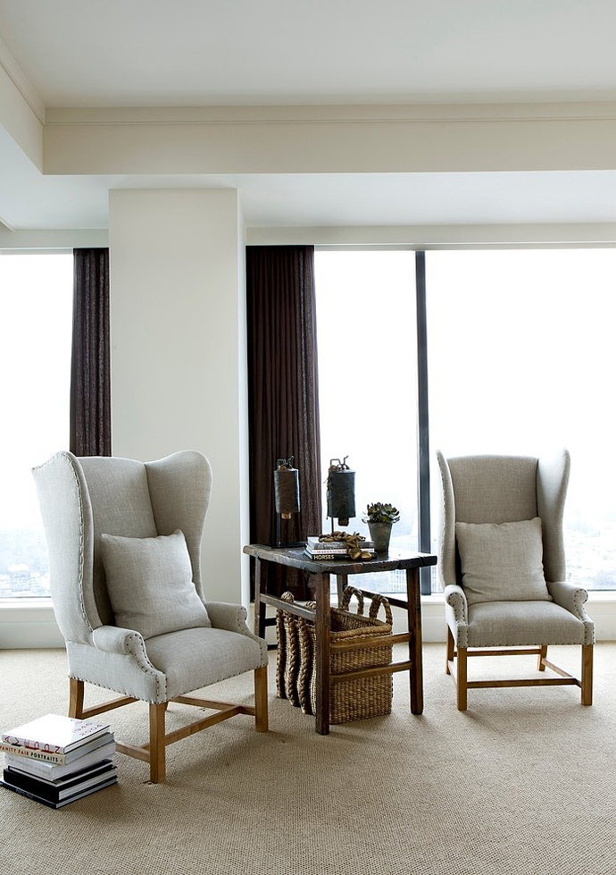 reading knock High Rise Small Spaces - Sovereign Home by Westbrook Interiors