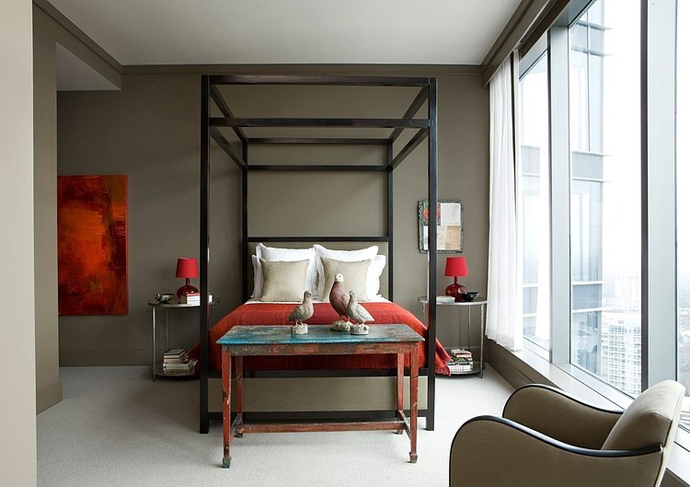 small bedroom design High Rise Small Spaces - Sovereign Home by Westbrook Interiors