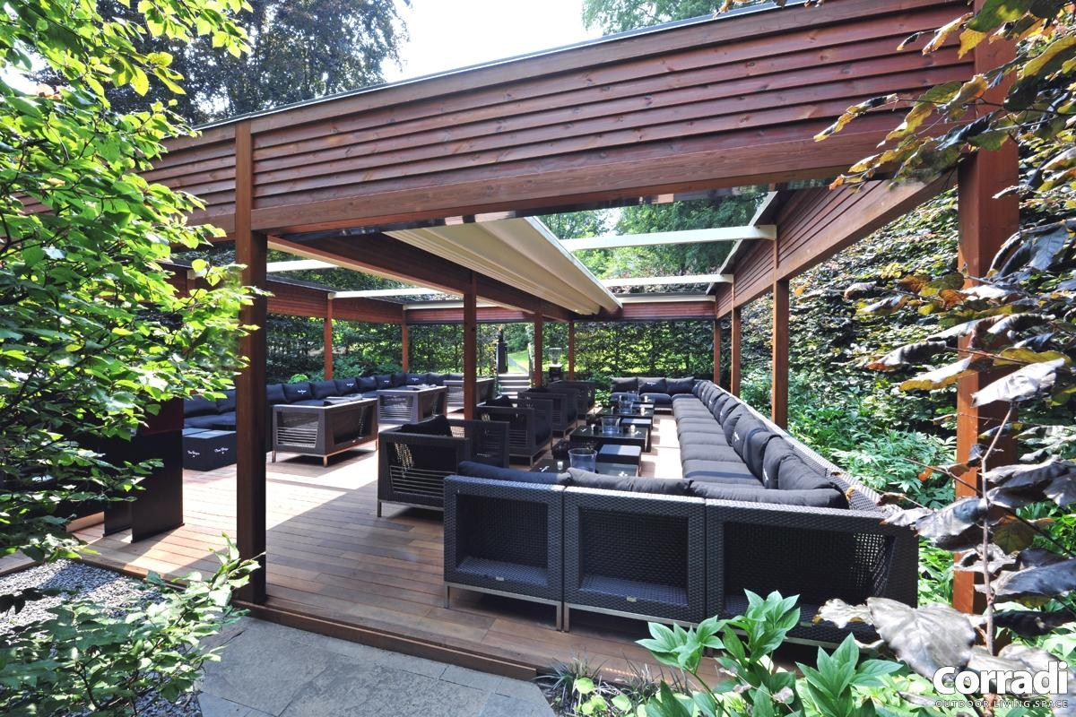 Pergola designs upfront how to build a wood pergola in a for Pictures of designs