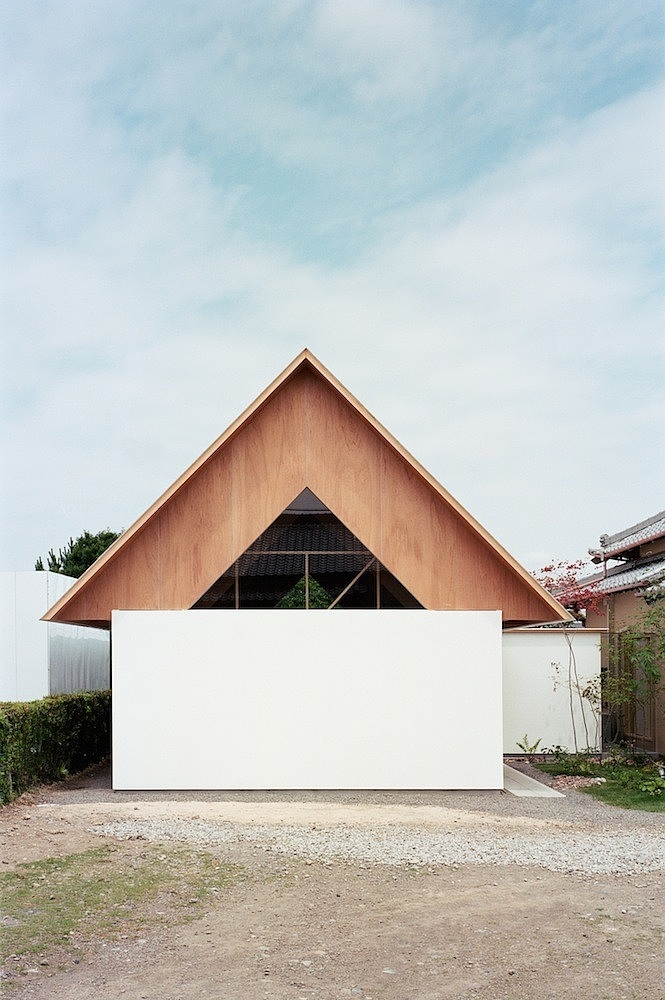 facade of Minimalist-Home-Extension-in-Japanese-Style-by-mA-Style-homesthetics-design-studio