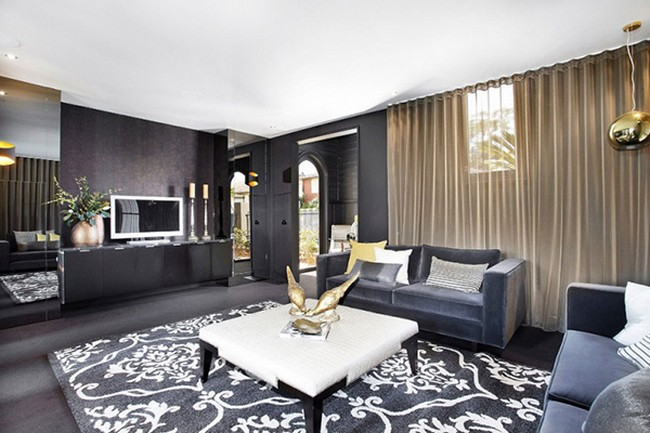 luxurious interior design in Religious Building Transformed into Incredible Modern Mansion Hudson St by Bagnato Architects