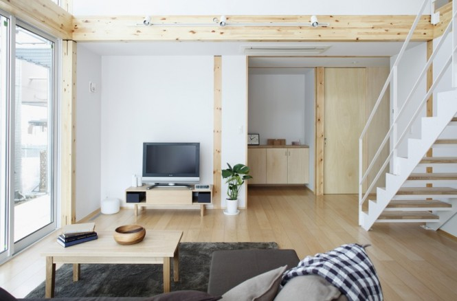 Simple open plan home generating equilibrated small spaces by muji homesthetics inspiring - Room design for small space plan ...
