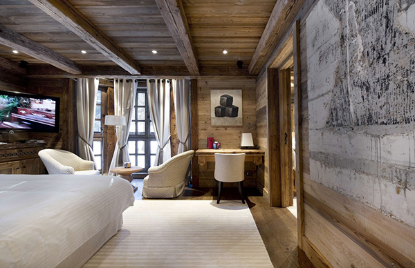 Stunning Modern Mansion Preserving The Roots in Courchevel, France-Les Gentianes 1850