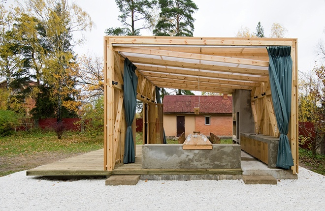 The Arbor Open Structure Pergola Design By Kerimov