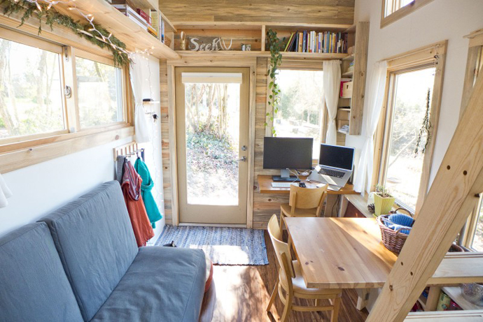 Tiny Project - Mini House the Size of a Small Bedroom Design by Alek Lisefski