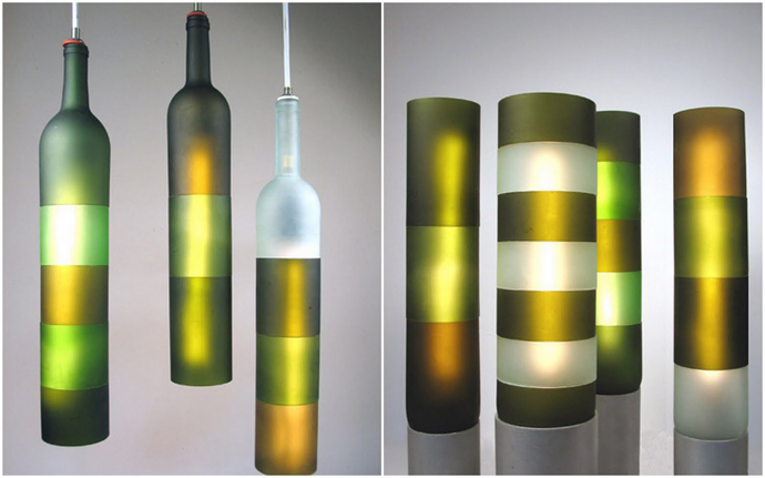 sublime wine bottle art 20 Creative & Inspiring Ideas of How to Recycle Wine Bottles Into Pieces of