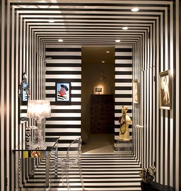 10 creative inspiring traditional black and white hallway designs
