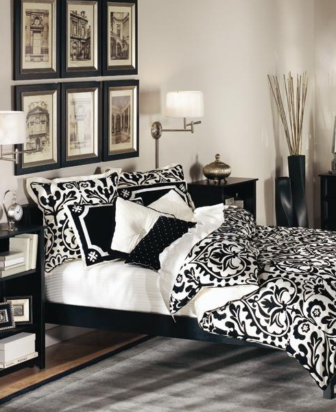 French Bedroom Black And White Teenage Bedroom Wallpaper Uk Wooden Bedroom Blinds Bedroom Oasis Decorating Ideas: 19 Creative & Inspiring Traditional Black And White