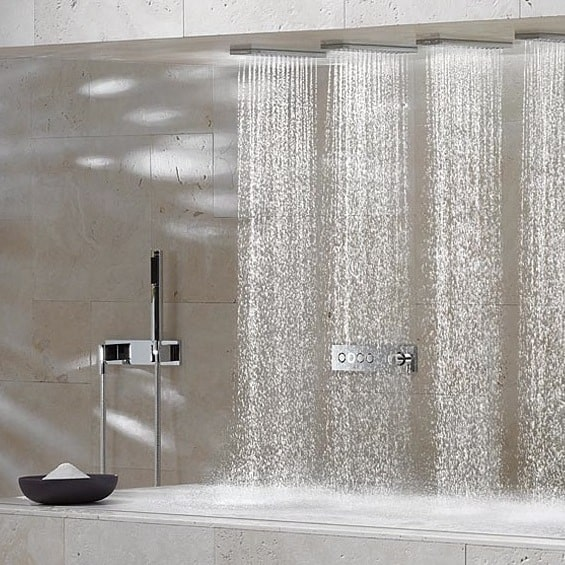 Horizontal Shower By Dornbracht Source Of Spiritual