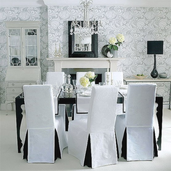 white simple -CreativeInspiring-Black-And-White-Traditional-Dining-Areas-Designs-homesthetics-design