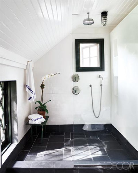 attic CreativeInspiring-Cool-Traditional-Black-And-White-Bathrooms-Designs-cool-bathrooms-homesthetics