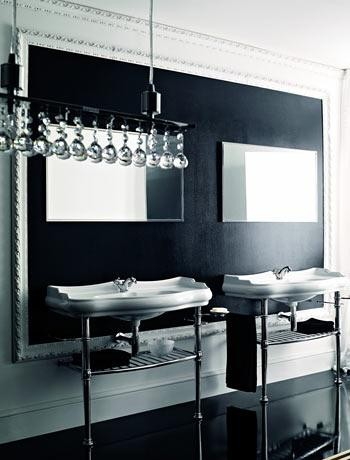 double sink CreativeInspiring-Cool-Traditional-Black-And-White-Bathrooms-Designs-cool-bathrooms-homesthetics