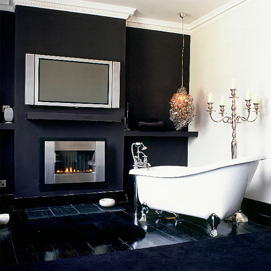 simple beautiful CreativeInspiring-Cool-Traditional-Black-And-White-Bathrooms-Designs-cool-bathrooms-homesthetics