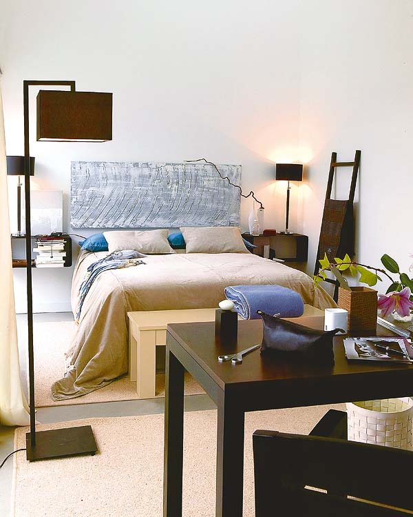 25 small space designs tips meant to help you enlarge for Bedroom decorating tips small space