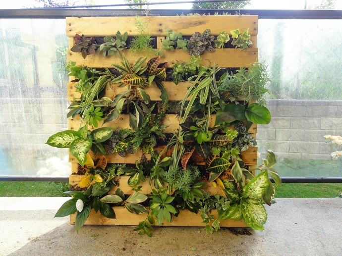 34+ Creative&Inspiring Methods of Recycling Wooden Pallets Into Your Own Garden (3)
