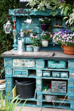 34+ Creative&Inspiring Methods of Recycling Wooden Pallets Into Your Own Garden (6)