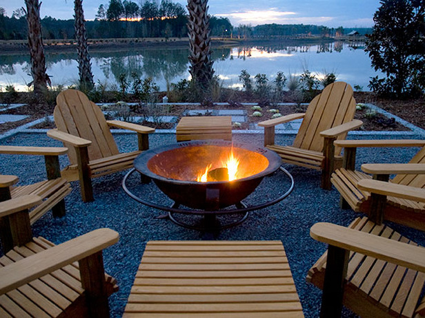 metal fire pit design in Backyard Landscaing Ideas-Attractive Fire Pit Designs Homesthetics