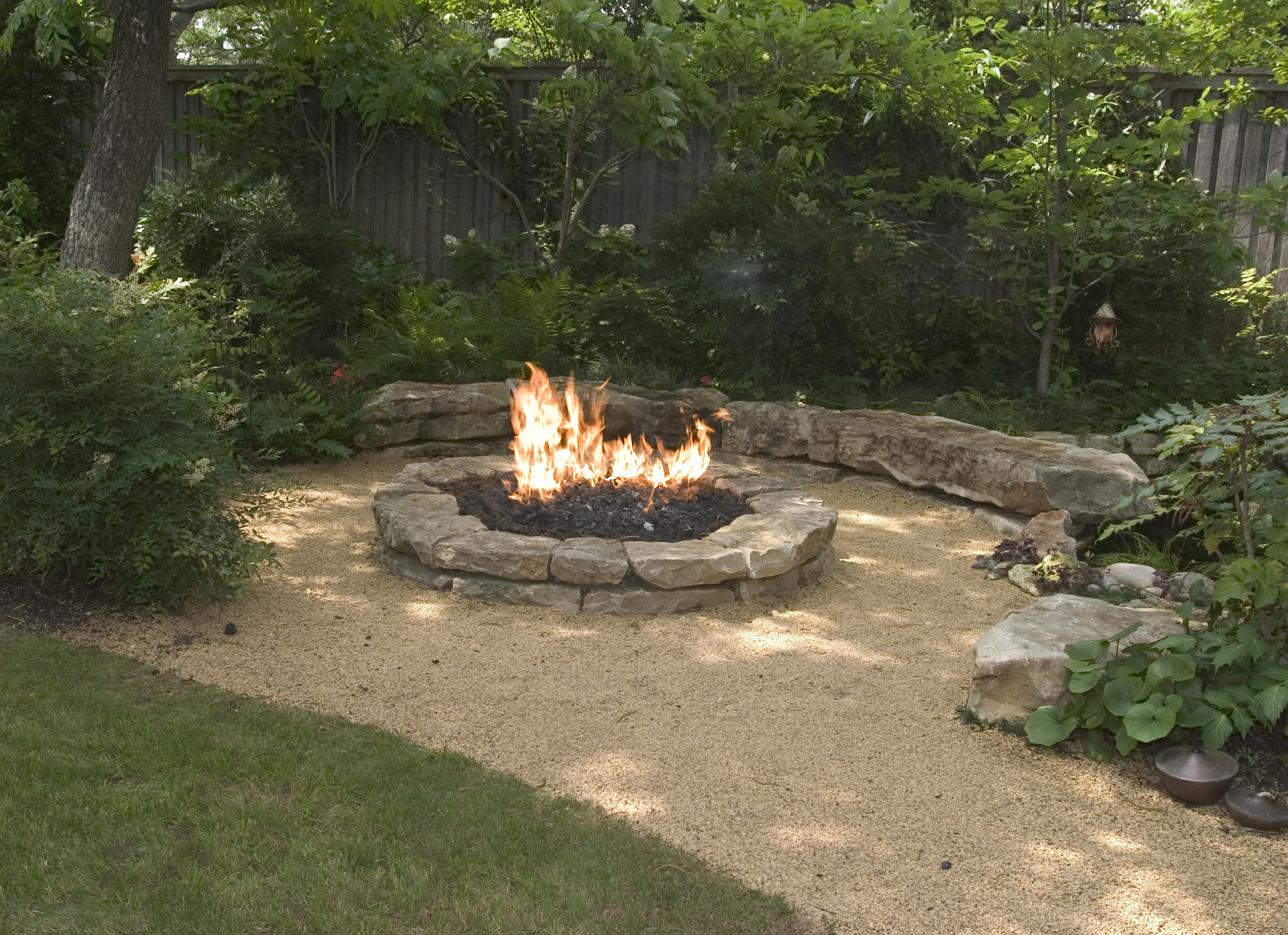 Backyard Landscaing Ideas Attractive Fire Pit Designs Homesthetics