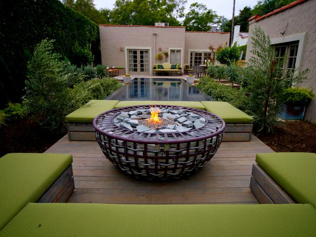 large bowl fire pit design in Backyard Landscaing Ideas-Attractive Fire Pit Designs Homesthetics