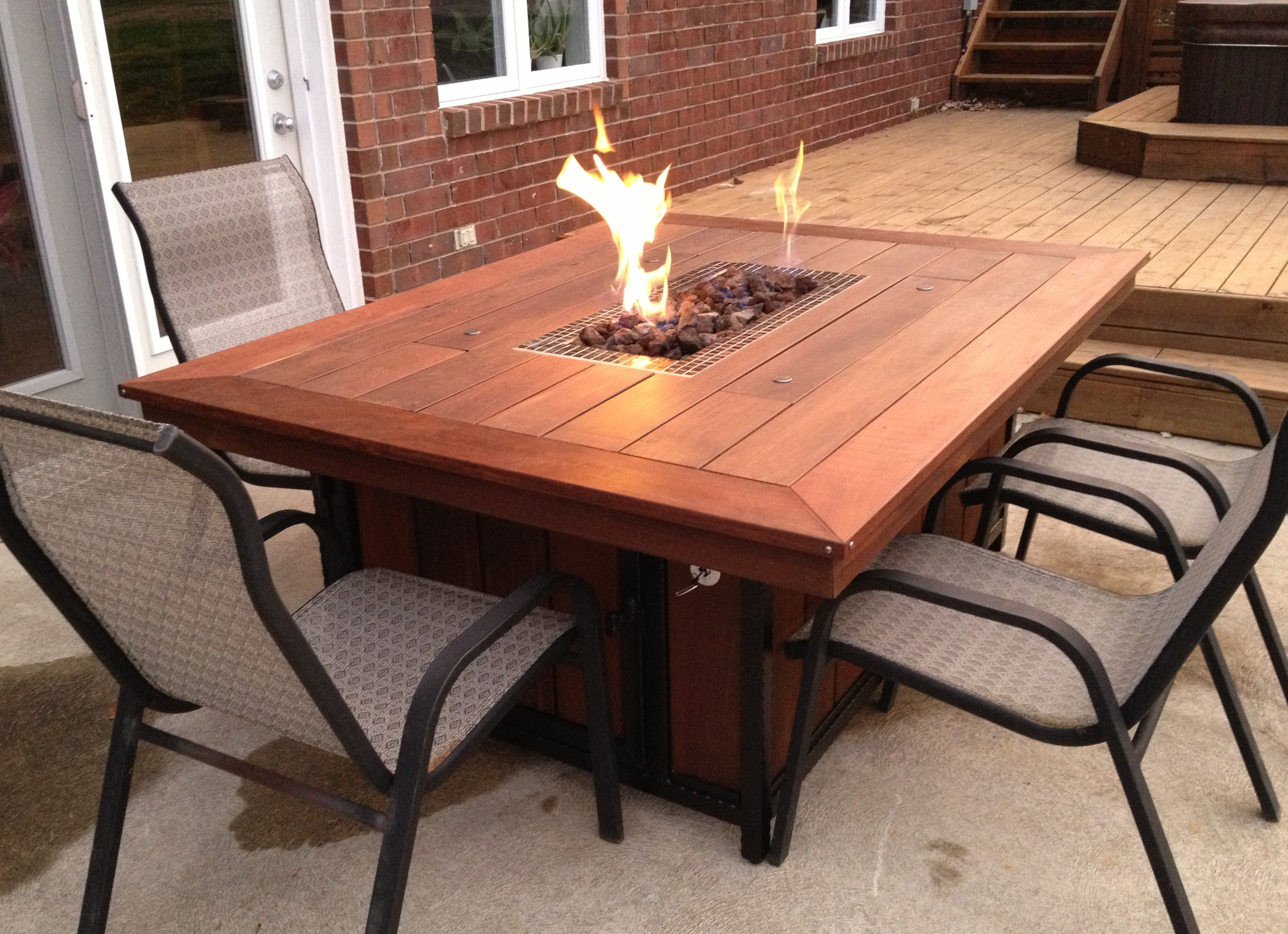 Fire Pit Patio Set at Home and Interior Design Ideas