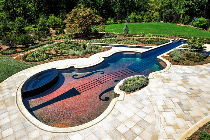 Backyard-Landscaping-Ideas-Swimming-Pool-Forged-as-a-Stradivarius-Violin
