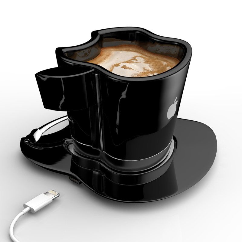 Brand Loyalty to The Smallest Detail- Apple iCup Apple Concept