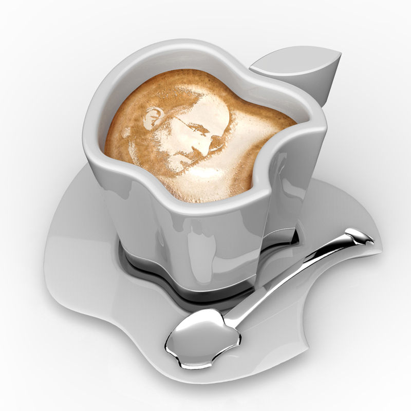 Brand Loyalty to The Smallest Detail Apple iCup Apple Concept homesthetics design 16