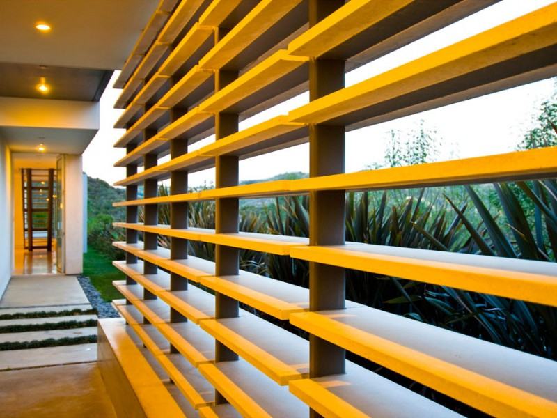 yellow Creative-Interior-Design-Nestled-in-a-Modern-Mansion-Defined-by-Open-Spaces-and-Love-for-Nature