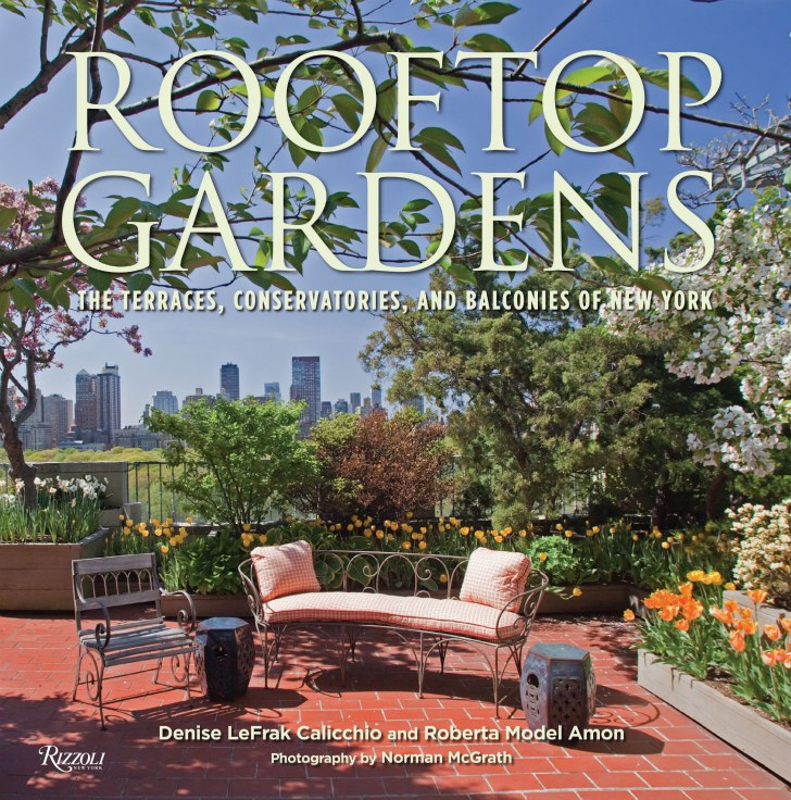 the book cover One-Coffee-Table-Book-Reveals-New-York-City's-Breathtaking-Elaborate-Roftop-Gardens-Rooftop