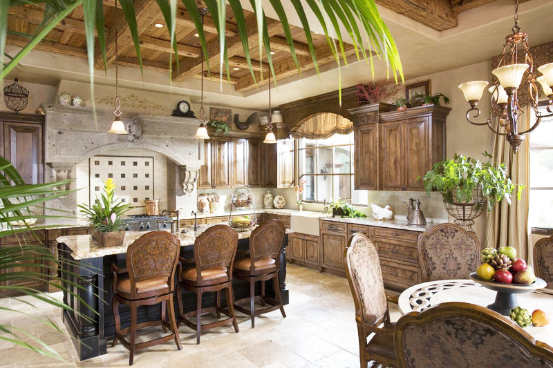 dinning area and kitchen interior design Perfect Spot for Relaxation-Dream House Dominating the McDowell Mountain