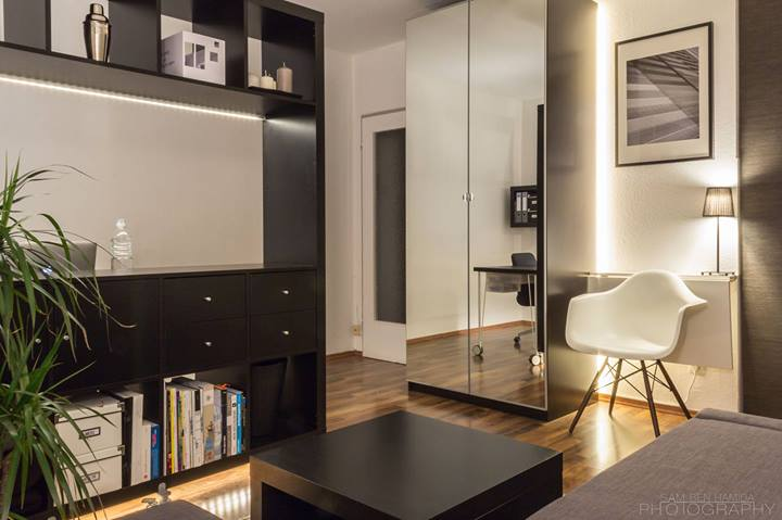small living space 10 Useful Tips on How to Live Large and Enjoy a Small Space of Just 24m²