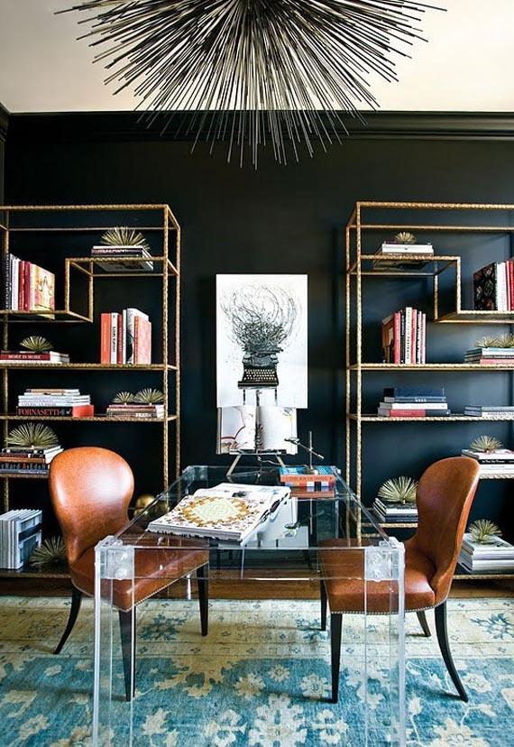 the blackk wall a statement in interior design homesthetics