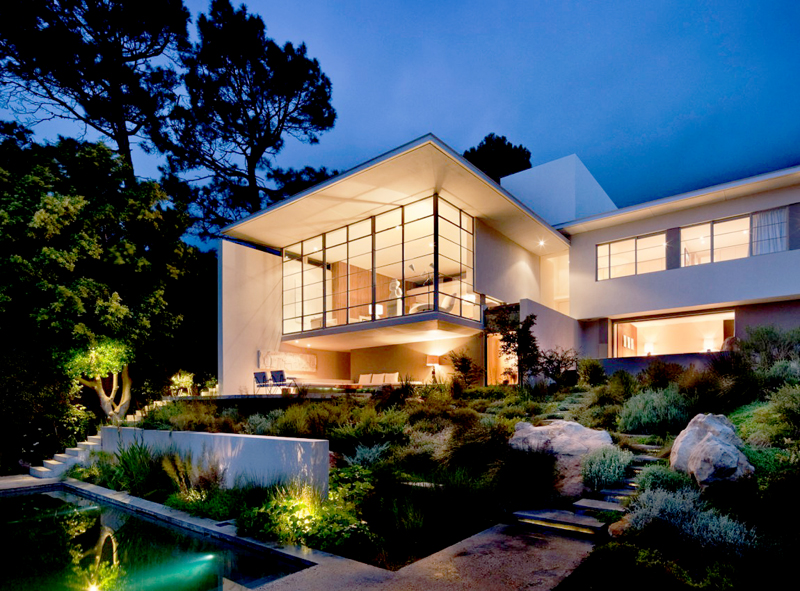 extraordinary modern mansionBridle Road House by Antonio Zaninovic Winning 2010 Honor Award from the American Society and Landscape Architects