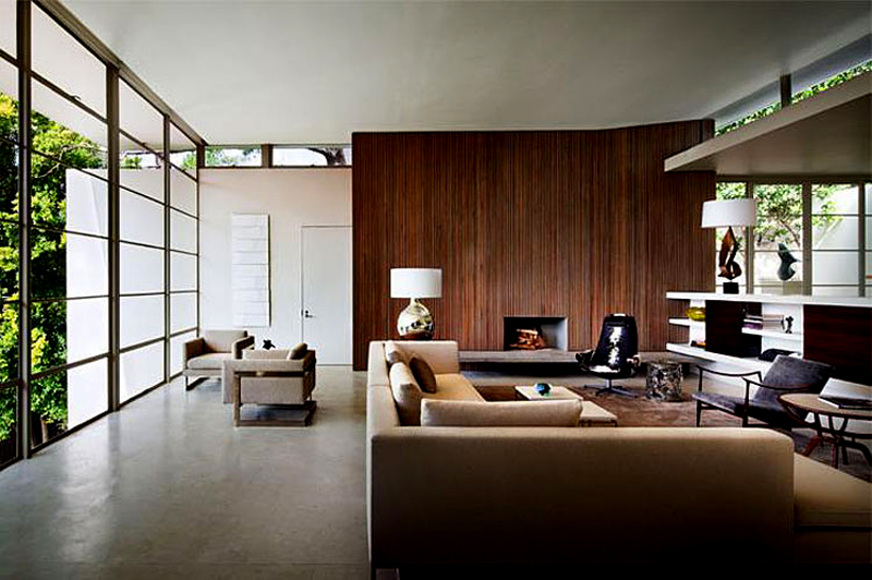 High End Living Room Design Bridle Road House By Antonio Zaninovic Winning 2010 Honor Award From