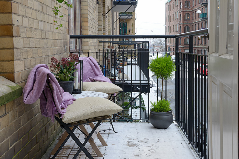 exterior balcony terrace Clean-Timeless-Beauty-Materiallized-in-Scandinavian-Interior-Design-with-a-Black-and-White-Theme
