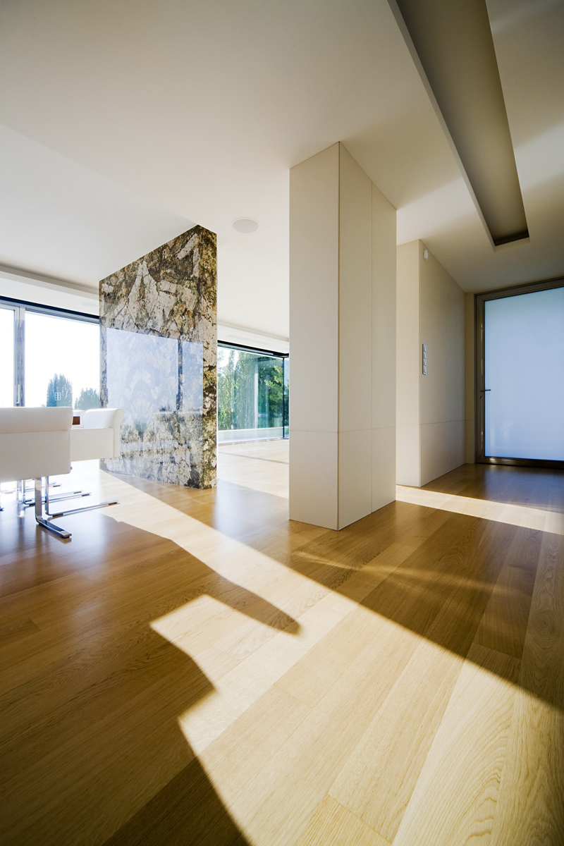 high end finishes Cliff View Modern Mansion with High End Finshishes by Architema, Hungary