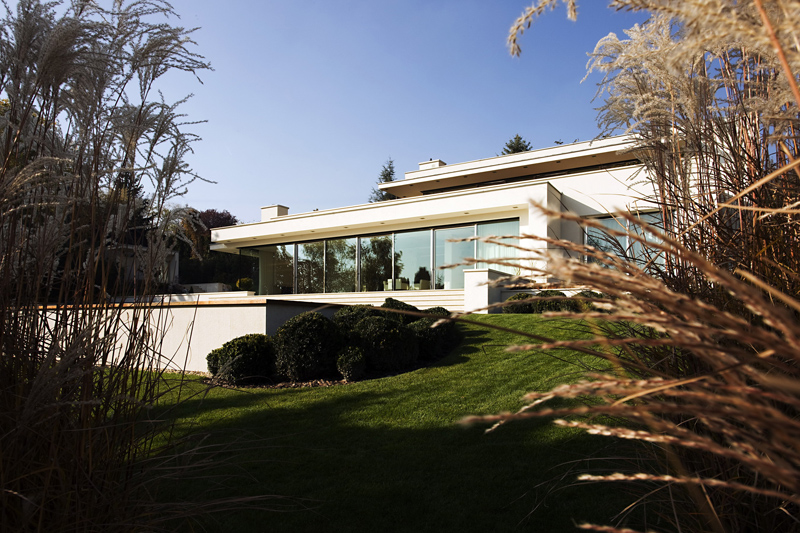 superb Cliff View Modern Mansion with High End Finshishes by Architema, Hungary