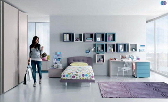 Fresh Teenage Bedroom Interior Design Ideas - Homesthetics ...