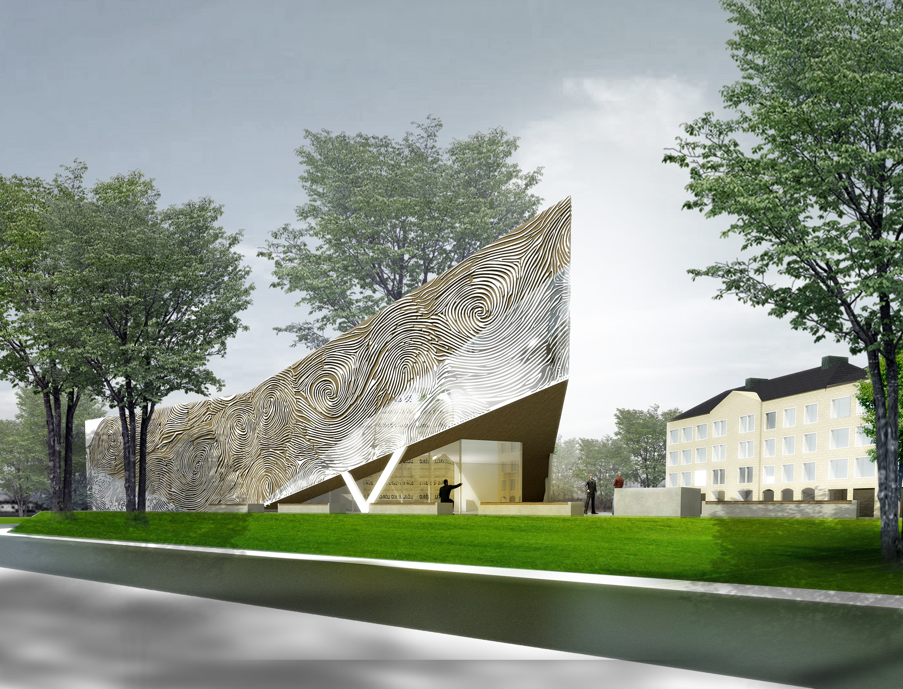 Herrmanns Architekten Presenting the Concept of a New Synagogue in Koblenz in Germany homesthetics (4)