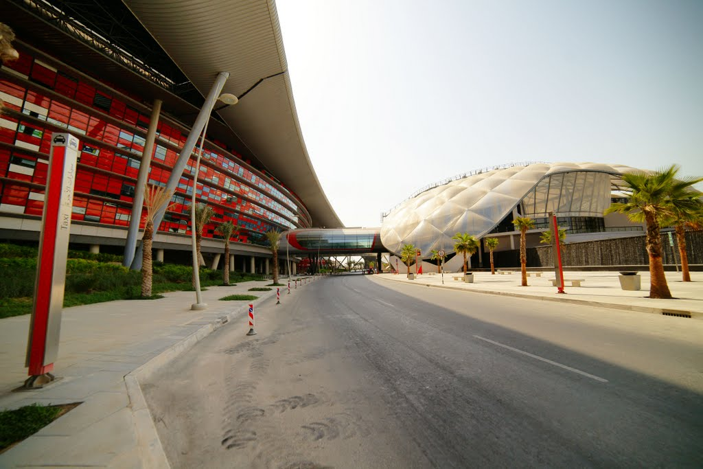 Out of the Ordinary Design-The Ferrari World in Abu Dhabi by Benoy Architects