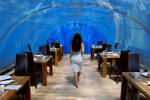 The First Undersea Restaurant-Ithaa by M.J. Murphy Ltd