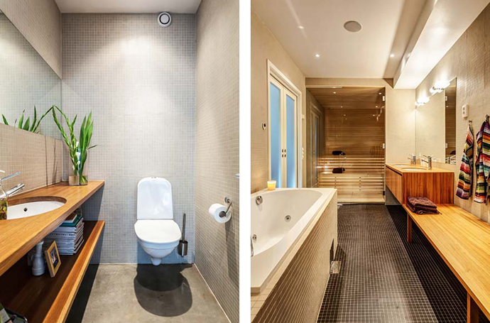 bathroom detail shot Vivid-Interiors-and-Serene-Atmosphere-Produced-with-High-Contrasts-in-Stockholm-by-Franson-Wreland