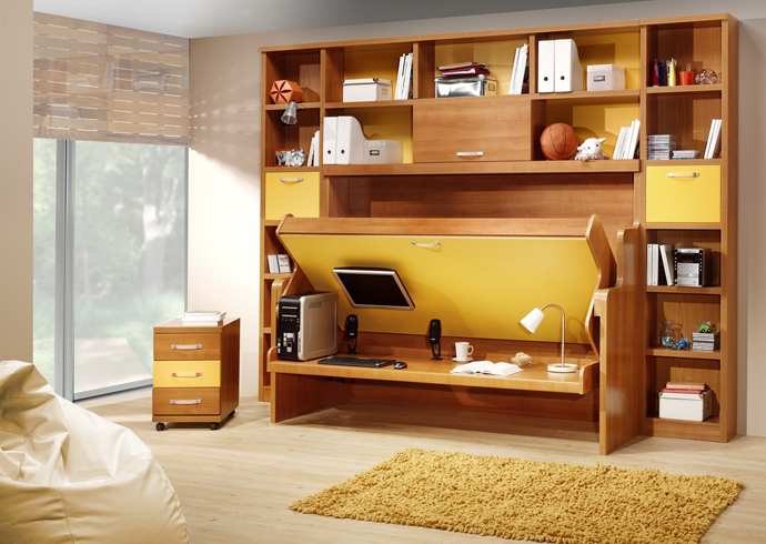 cool inventive murphy beds for decorating smaller rooms - Murphy Bed Design Ideas