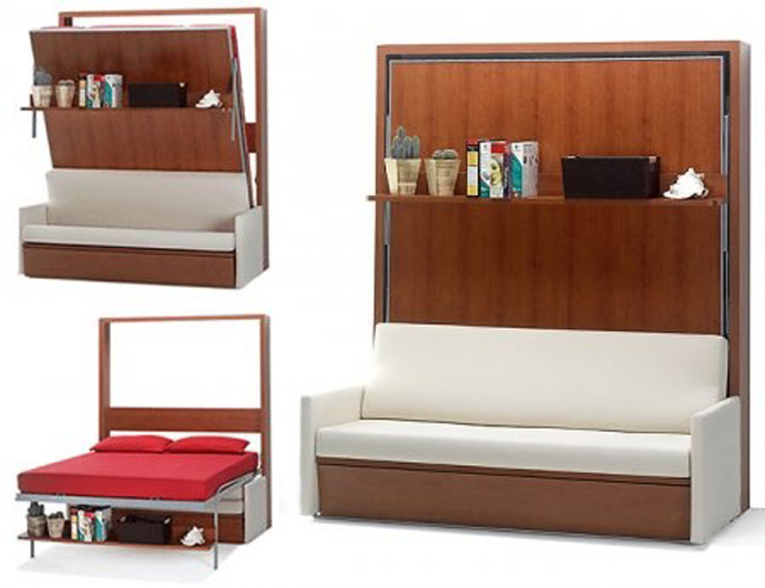 15 Cool Amp Inventive Murphy Beds For Decorating Smaller