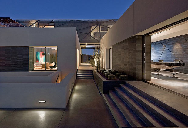 Diamond Grill Design - Dream Residence in Las Vegas by Assemblage Studio