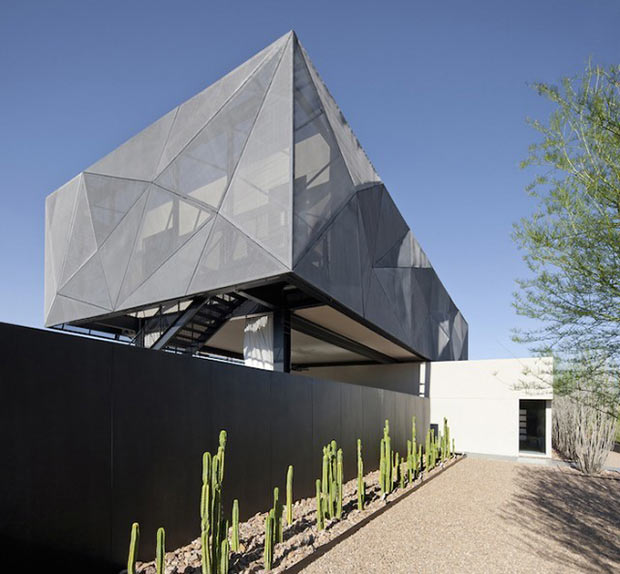 Diamond Grill Design - Dream Residence in Las Vegas by Assemblage Studio perspective view