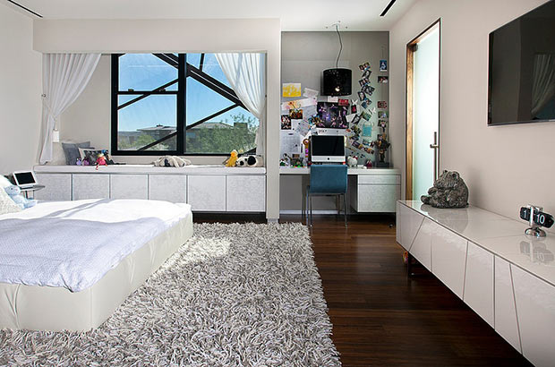 bedroom interior design Diamond Grill Design - Dream Residence in Las Vegas by Assemblage Studio