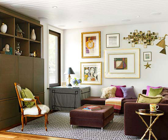 Furniture Ideas  for Small Living Rooms homesthetics (8)